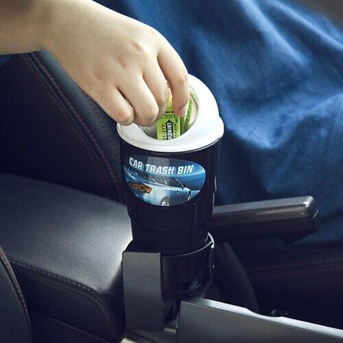 Caja de almacenamiento de estilo de coche cubo de basura tanque de basura para LADA Vesta Granta 1300 Niva Samara Signet Priora calina Safarl largus vaz Perilla de aire acondicionado para coche perilla de Control de calor perilla de botón para Lada Granta accesorios de coche