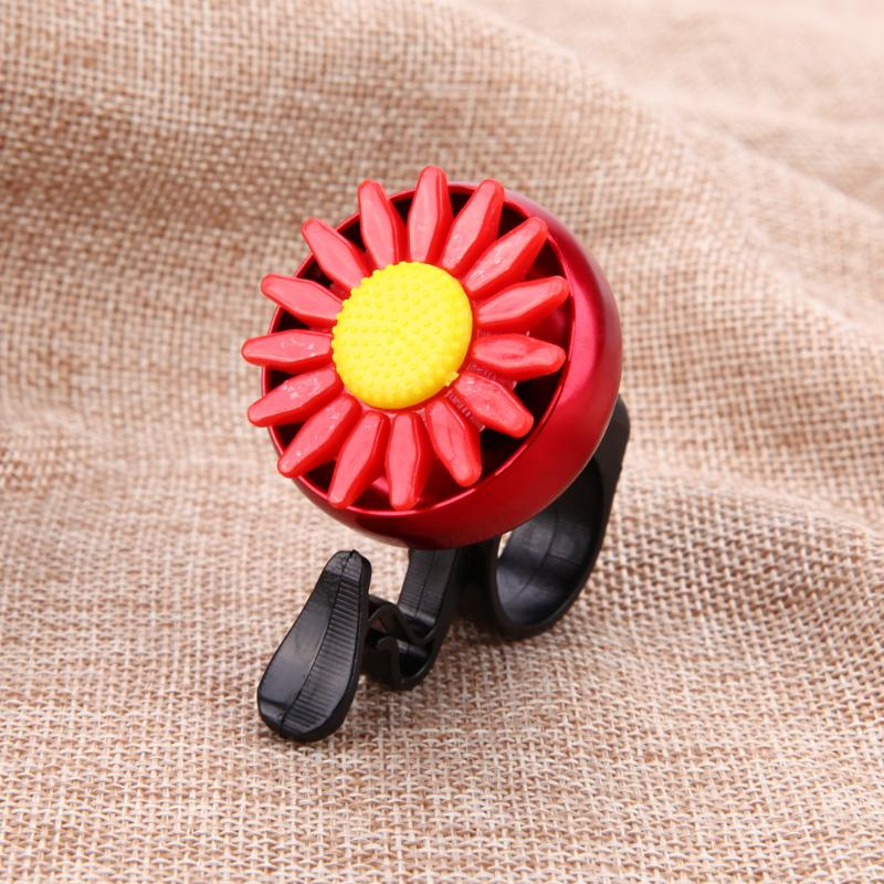Cuty Flower Beautiful Bike Bicycle Cycling Handlebar Metal Ring Horn Sound Bell