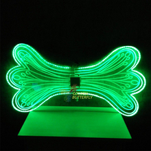 LED Wings Glowing Fashion Lady Luminous Angel Wings Catwalk Show Women Clothing Light Suits Dance Dress Accessories