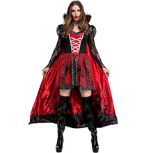 Umorden Womens Gothic Vampire Vampiress Temptress Costume Erzsebet Bathory Countess Halloween Masquerade Mardi Gras Party Dress