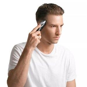 Youpin ENCHEN Hummingbird электрическая машинка для стрижки волос 10 Вт USB зарядка 110-240 в низкий уровень шума триммер для волос с 3 расческой для волос для мужчин и пожилых