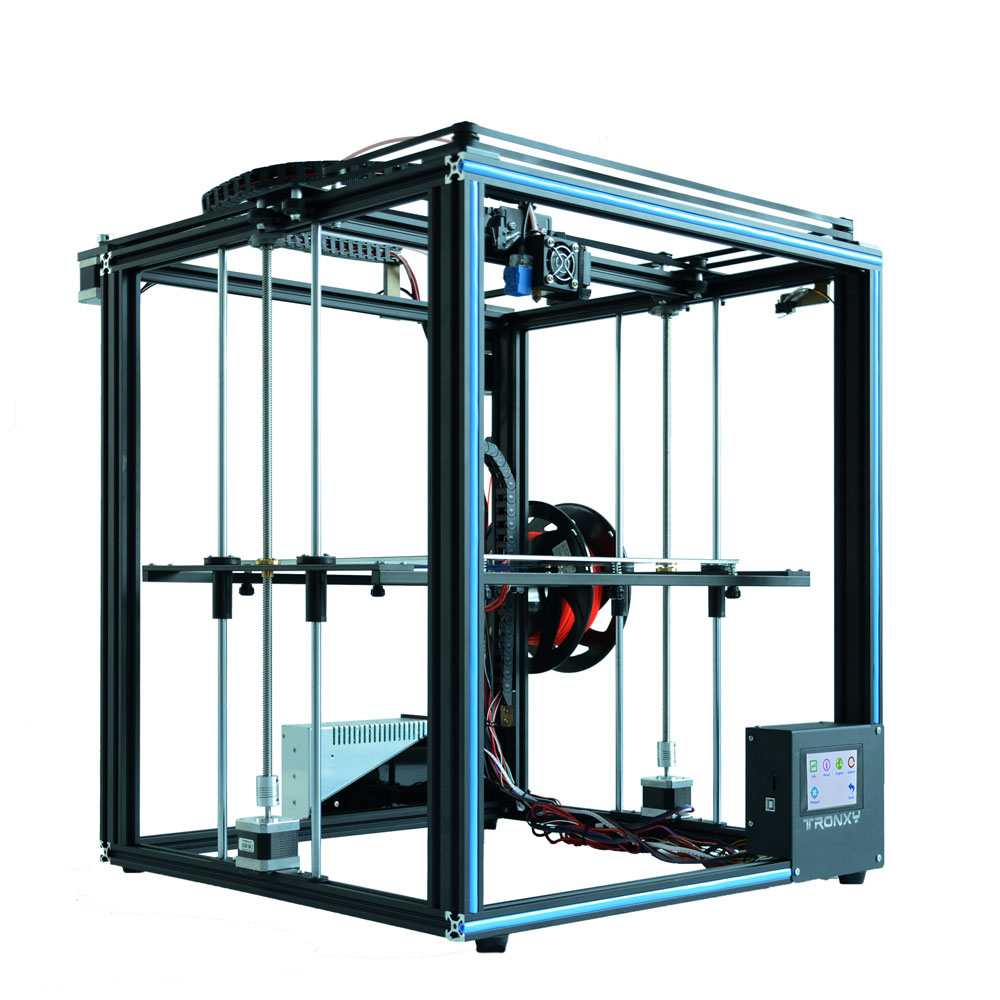 Auto nivellement Tronxy X5SA bricolage 3d Imprimante Full metal 3d machine 3.5 pouces écran tactile