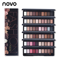 NOVO 10 Colors Shimmer Matte Natural Fashion Eye Shadow Make Up Light Eyeshadow Cosmetics Set With Brush Eye Makeup Palette 1PC