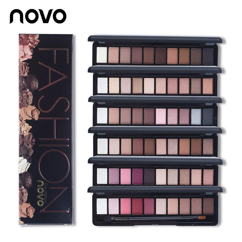 NOVO 10 Colors Shimmer Matte Natural Fashion font b Eye b font font b Shadow b