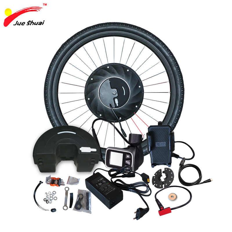 """36 V avant Imortor tout en un Ebike Kit de Covnersion 24 """"26"""" 700C moteur roue en aluminium vélo électrique roue vélo Kit de Conversion"""