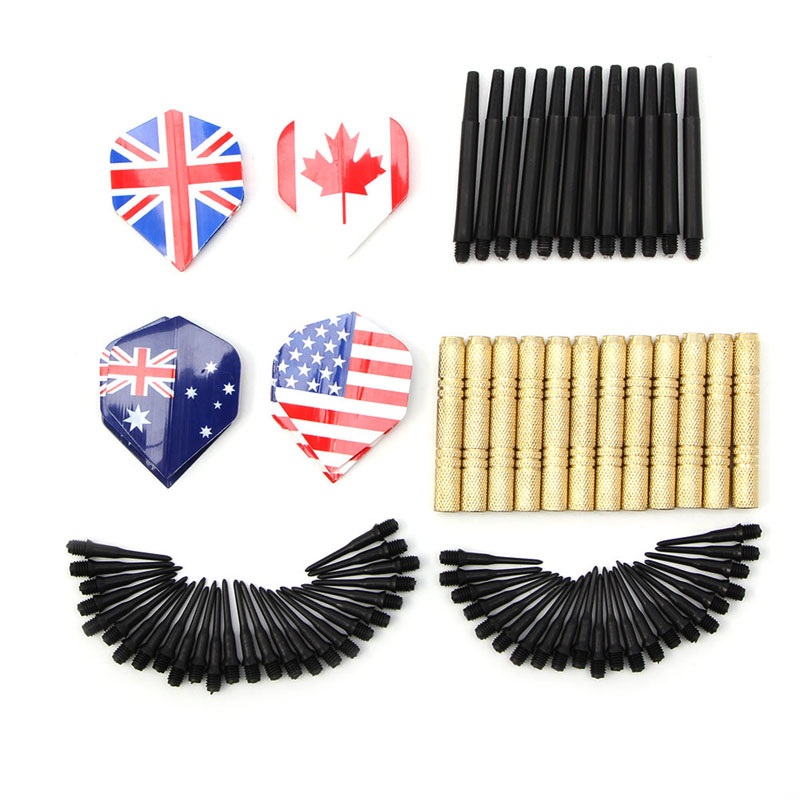 12Pcs Of Soft Tip Darts & 36 Extra Tips Professional For Electronic Dartboard Entertainment
