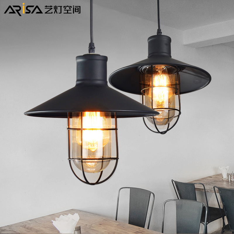 Nordic LED Cafe Hanging lights Novelty living room Fixtures restaurant bar Lighting iron Industrial retro Pendant Lights modern iron pendant lights restaurant bar cafe led pendant lamp living room bedroom study hanging light industrial lighting