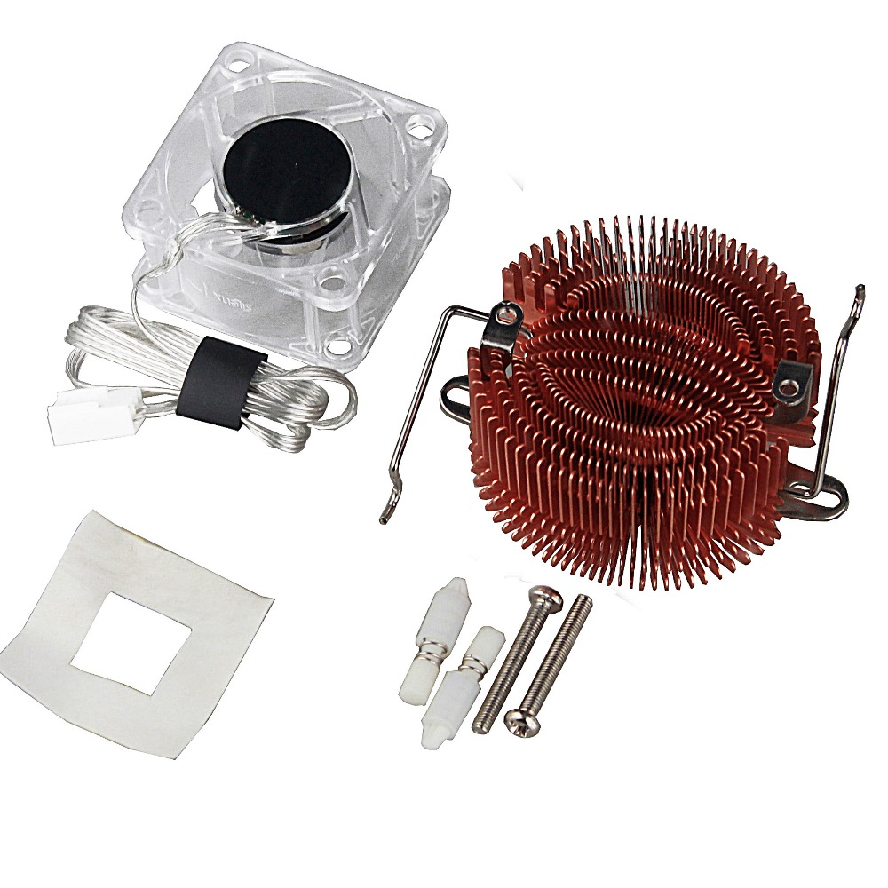 Купить с кэшбэком Northbridge Radiator Cooler Pure Copper North Bridge PC Chipset Heatsink Cooling Fan 4020 40mm
