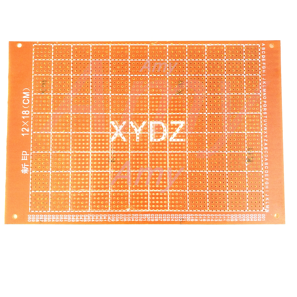 Dropshipping 4pcs 5x7 4x6 3x7 2x8 Cm Double Side Copper Prototype Board 8x12cm Single Plate Spray Tin Universal Circuit 5pcs Lot Breadboard Mesh 1218cm Tunnel