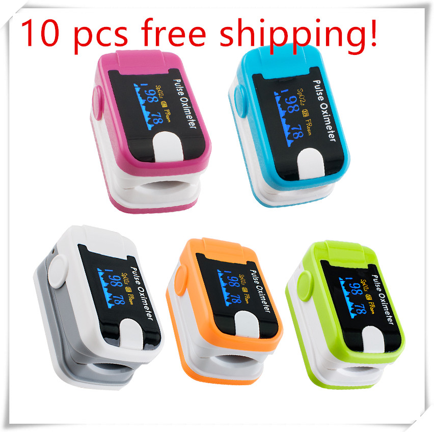 Hot!Portable Finger Tip Pulse Oximeter Blood Oxygen SpO2 Saturation Monitor Blood Pressure Monitor hot sale mini spo2 fingertip pulse instant read digital oximeter blood oxygen sensor saturation monitor meter