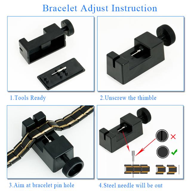 HotTime Men's Magnetic Health Bracelets – 316L Stainless Steel