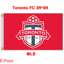 1 piece 144cm*96cm size MLS Toronto FC Flying flag