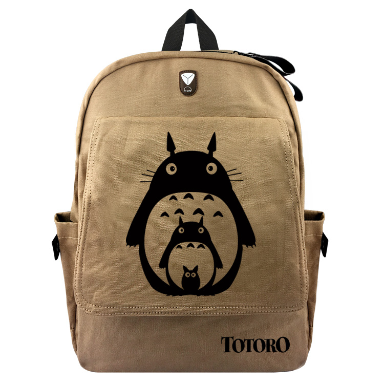 Totoro Game of Thrones Backpack Schoolbag Casual Teenagers Men Women Student Canvas School Bags Travel Bags Knapsack Mochila roblox game casual backpack for teenagers kids boys children student school bags travel shoulder bag unisex laptop bags