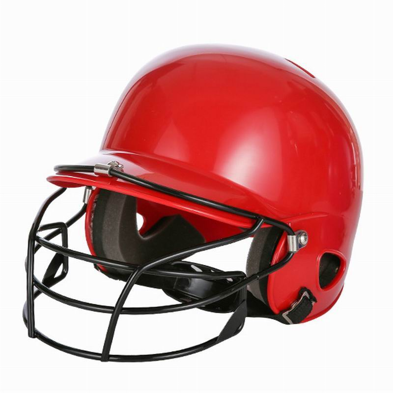 Baseball Helmet Cushion Inside Light Breathable Adjustable For Kids Adults High Density ABS PC Mixture Head Face Eyes Protecting