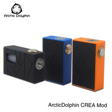 2018 New product Arctic dolphin Crea BF Squonk mod Adjustable 510 thread 7ML squeeze bottle e-cigarette vape box mod new switch(China)