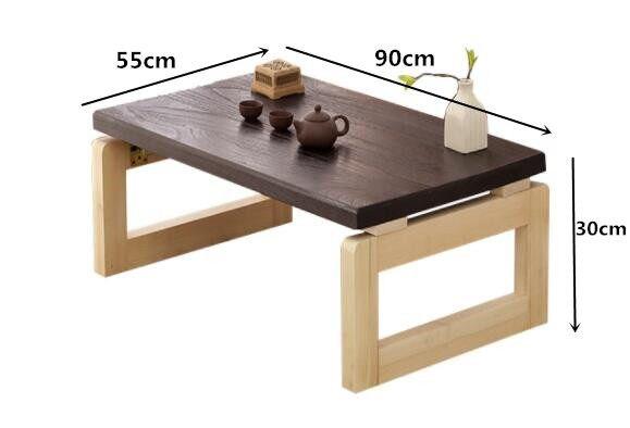 Online-Shop Vintage Holz Tisch Faltbare Beine Rechteck 90 cm ...