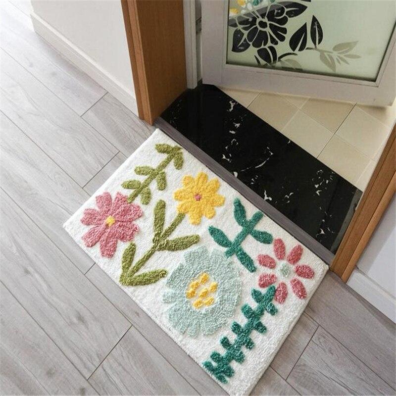 Livraison gratuite belle arbre tapis/tapis/Pad chaise Table dessin animé salon tapis porte tapis maison tapis/tapis 45*120 cm 60x150 cm - 6
