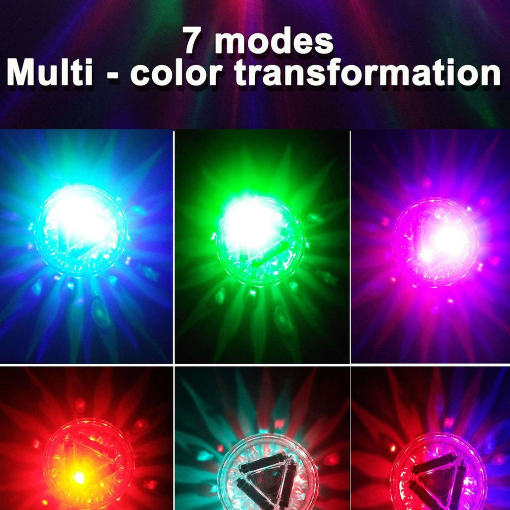 LED Baby Bath Light Colorful Water Floating Lamp Swimming Pool ...