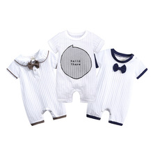 Baby Romper Baby Boy Clothes 100% Cotton Infant Jumpsuit Short Sleeve Summer Girls Boys Romper Toddler Infant 0-18 Month Clothes