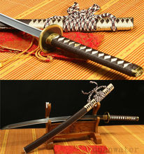 1095 Carbon Steel Sheath Walking Dead Michonne Sword Katana Replica