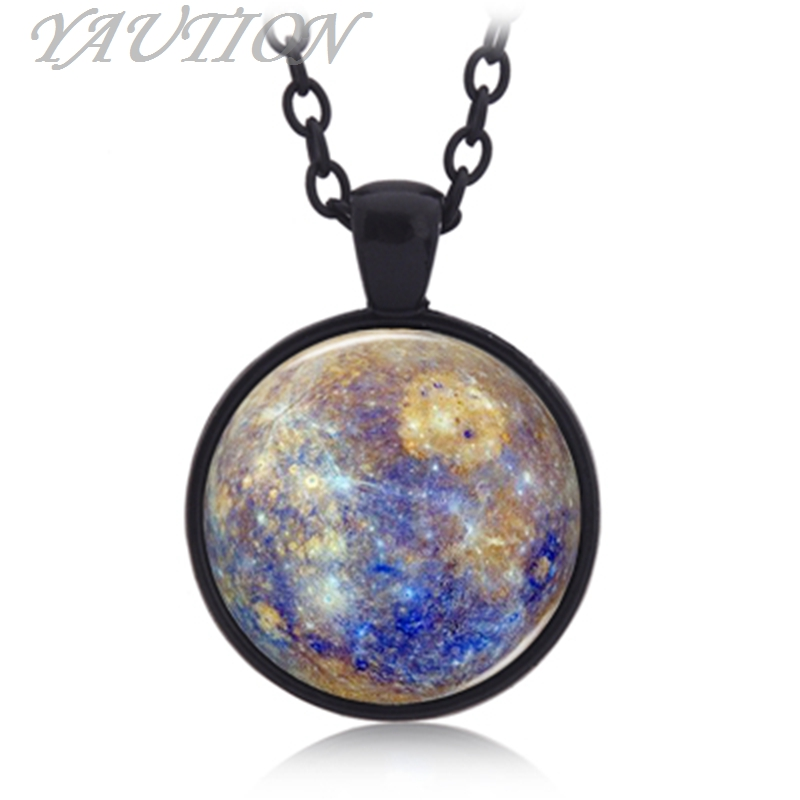 2016 Europe and the United States new starry stars stars panorama time gem pendant necklace