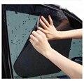 Comercio al por mayor de Alta Calidad 2 UNIDS Ventana Lateral Del Coche Estática Protección Protector Solar Parasol Cubierta Visor Protección de Pantalla Negro 42x38 cm
