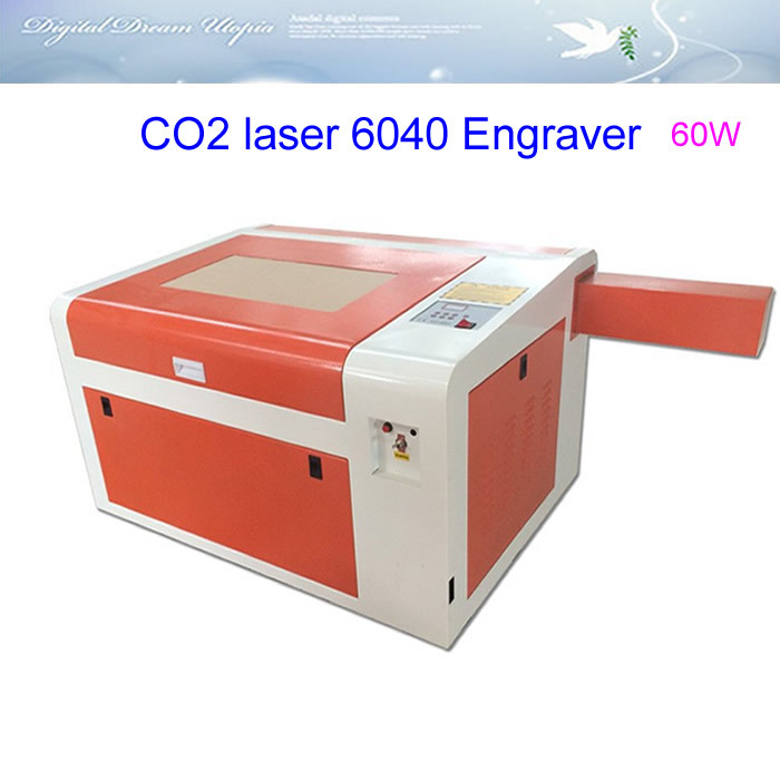 Best quality!LY 6040 CO2 Laser Engraving & cutting machine,60W,220V/110V,laser CNC router photosensitive seal machine 6040 cnc laser engraving and cutting machine