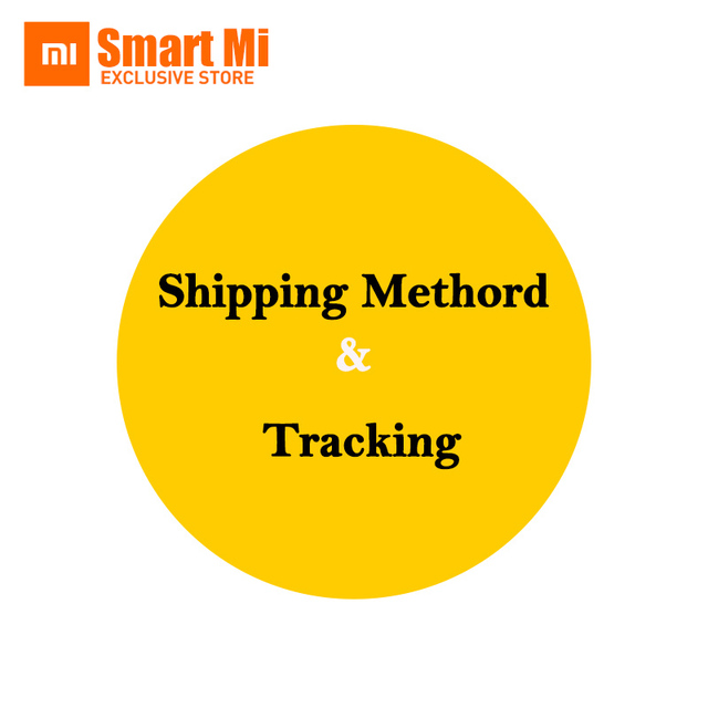 Shipping method & Tracking the package by Xiaomi Authorized store