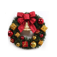 Christmas Small Wreath Corsage Artificial Flowers Simulation Fleur Artificielle Christmas Tree Ornaments Christmas Wreath