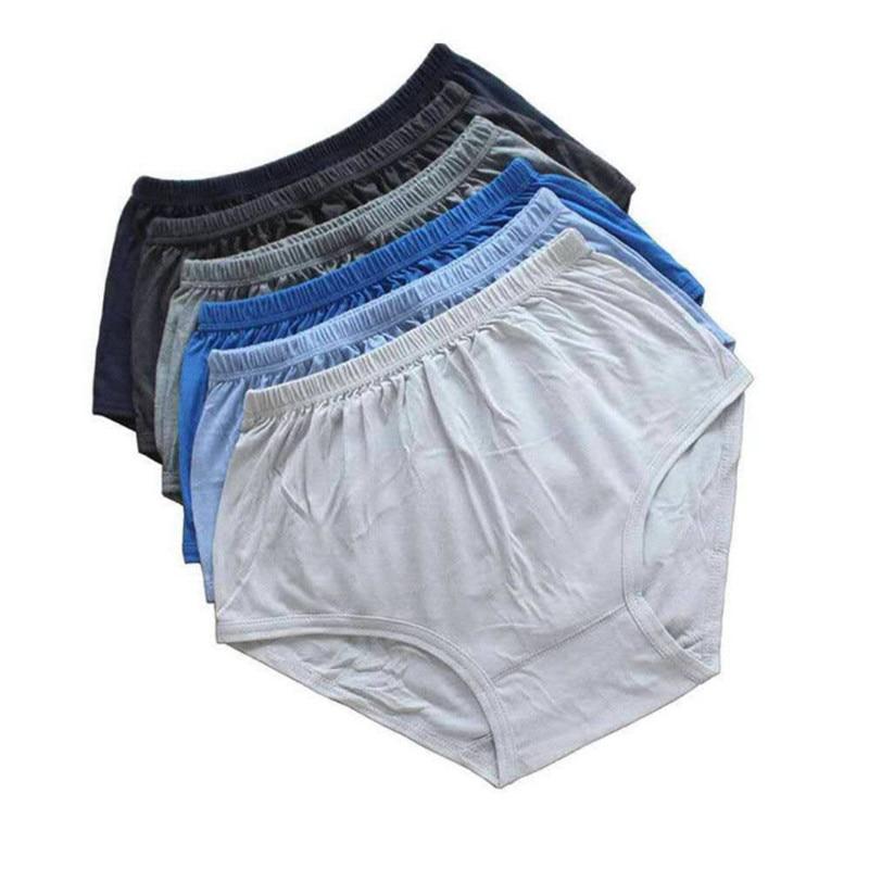 Cotton Men's Underwear Care Breathable Briefs Soft Comfortable Plus-size Suitable For The Elderly AT890045