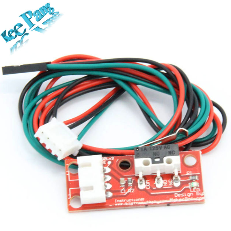 Endstop Mechanical Limit Switches  3D Printer Switch  for  RAMPS 1.4  Free Shipping Dropshipping
