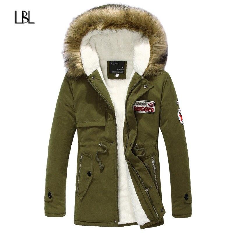 Winter Long Parka Men Autumn Thick Warm Men's Down Jacket Hooded Fleece Brand Windproof Outwear Coat Male New Hoodies Jackets