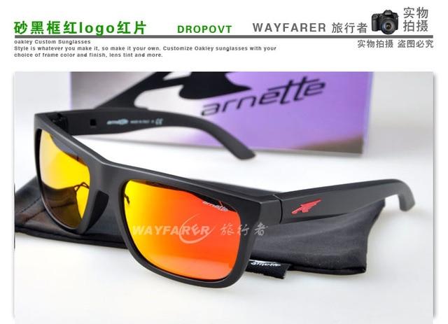 15c4361ac2f Arnette dropout tr90 sports eyewear male female style polarized sunglasses