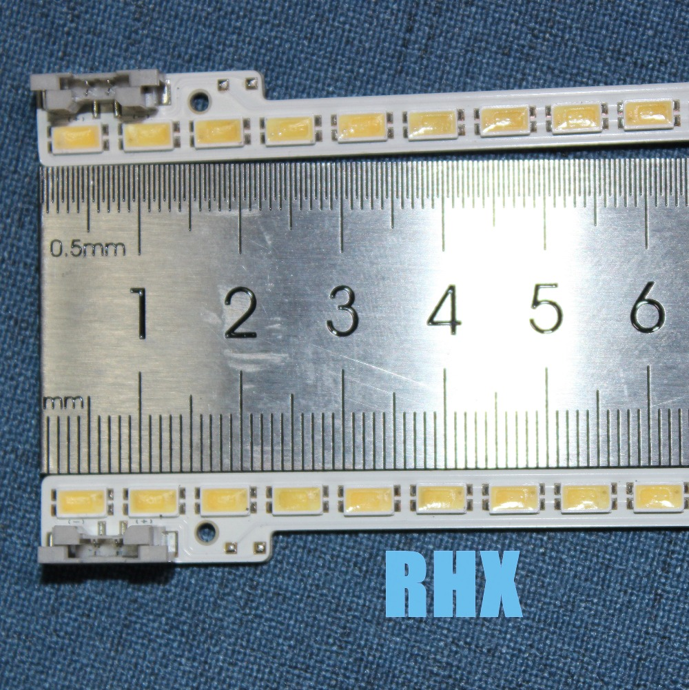 510mm LED Backlight Lamp Strip 72leds For  Samsung 46 Inch LCD TV UA46D5000PR 2011SVS46 5K6K H1B-1CH BN64-01644A  2pcs  100%NEW
