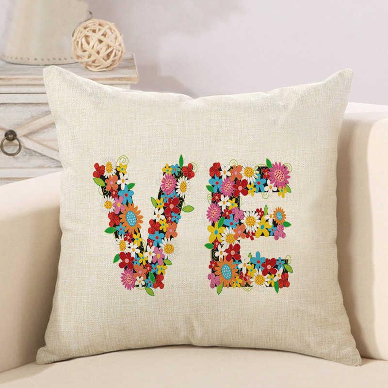 alphabet animal flower high heels letter cushion cover (4)