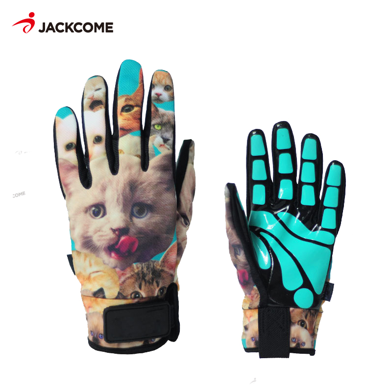 Jackcome  Ski Gloves Waterproof Cool-resistant Snowboard Men Womens guantes for Snowboard gloves