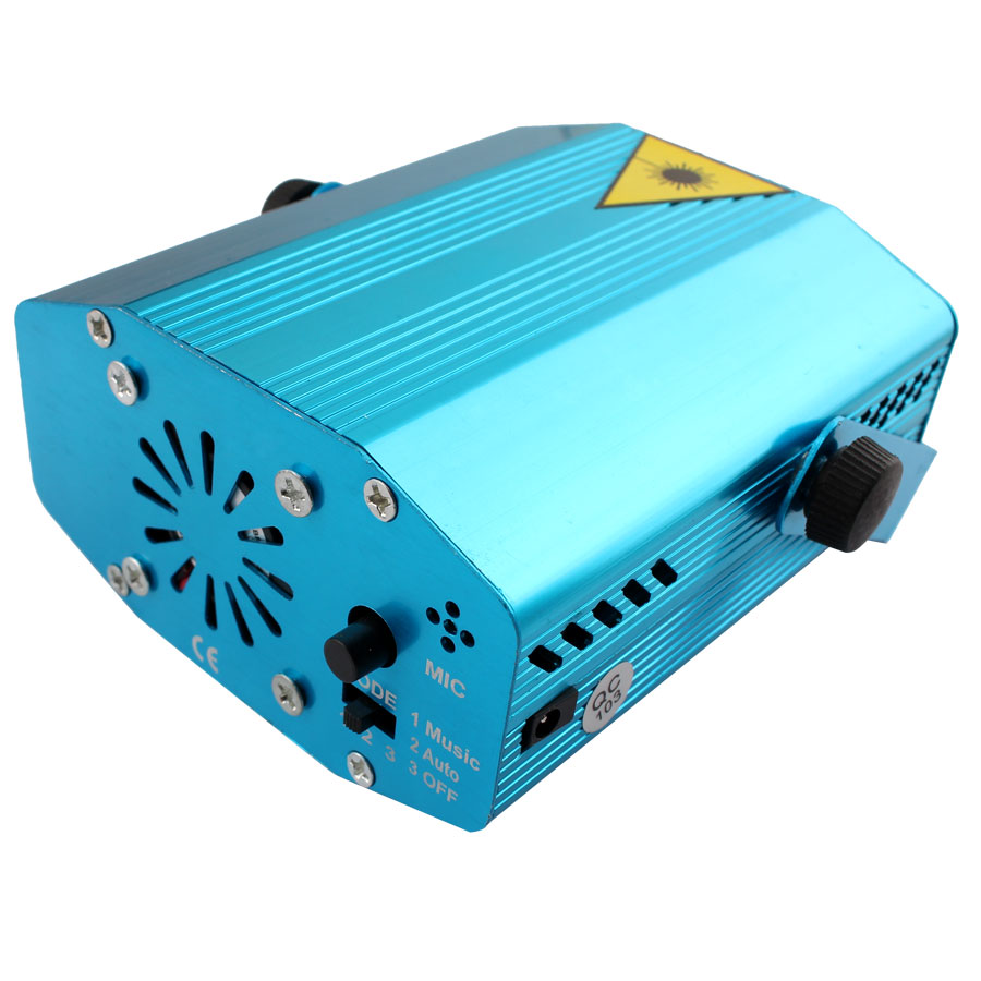 Image 3 - Mini LED Laser Projector Christmas Decorations Disco Light stage lighting effect Dj Voice activated Xmas Party Club wedding-in Stage Lighting Effect from Lights & Lighting