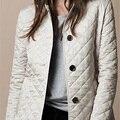 Más el tamaño 2016 Nuevo Otoño mujeres de la chaqueta de abrigo de invierno cálido abrigo de algodón Acolchado de Las Mujeres Abajo Chaquetas FS0231