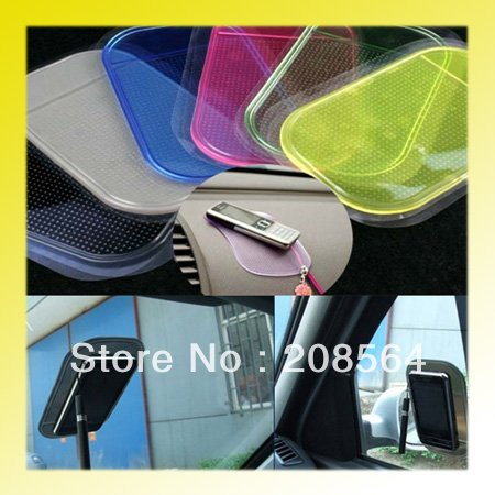 Powerful Silica Gel Magic Sticky Pad Anti-Slip Non Slip Mat for Phone PDA mp3 mp4 Car Multicolor