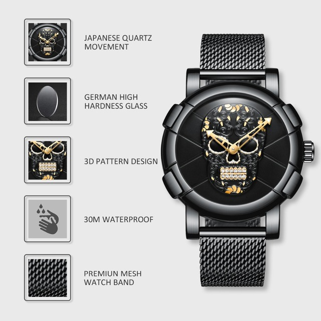Awesome Halloween Watches 10 Colors 3