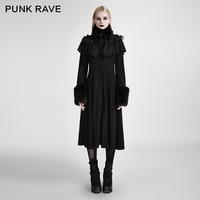 Лолита Черный цвет Для женщин Готический Kawaii милые длинные шаль оформлены Лолита пальто куртка LY059