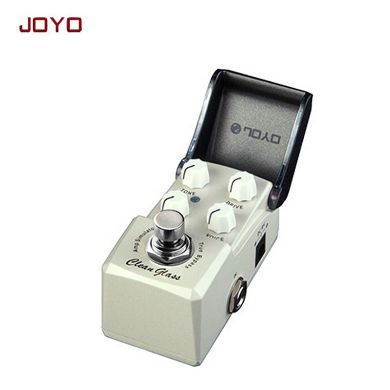 JOYO JF-307 IRONMAN Clean Glass guitar effect pedal AMP simulator classic vintage amps from California ture bypass freeshipping joyo rushing train amp simulator electric guitar effect pedal classic liverpool sounds true bypass jf 306 with free 3m cable