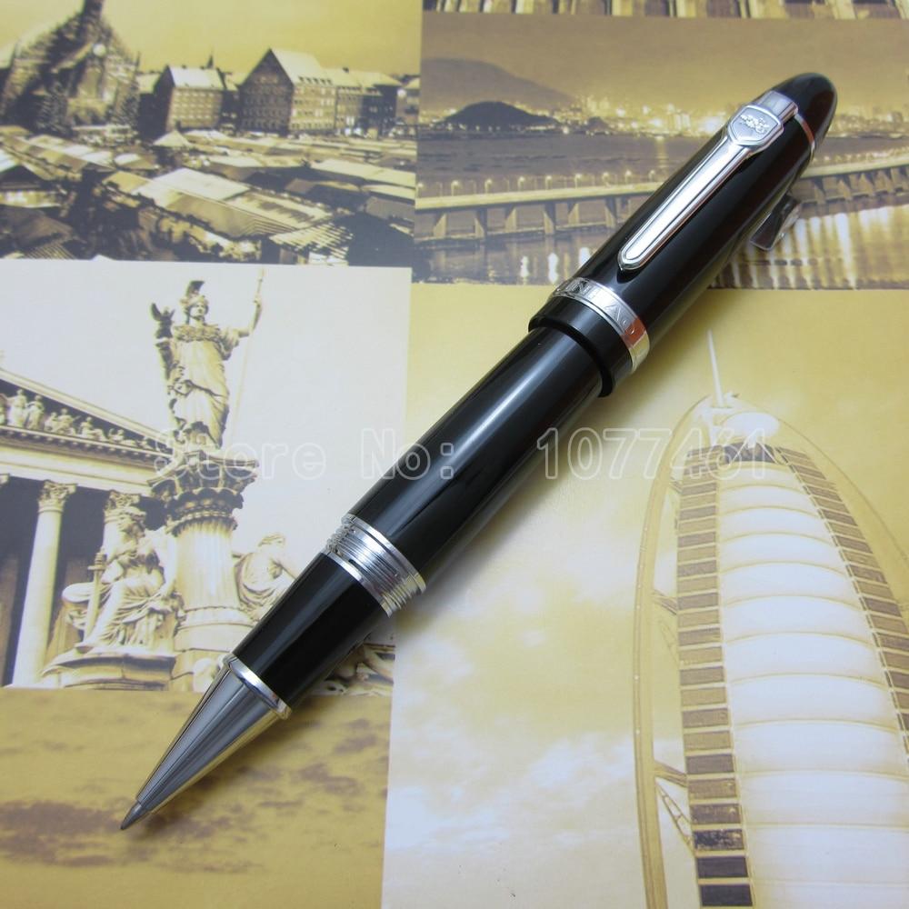 JINHAO Black Gloss international standard Big roller ball pen JH1059 paradigm cinema trio gloss black