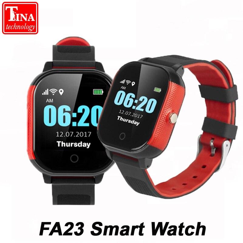IP67 Waterproof FA23 Smart Baby Watch SIM Card Touch Screen Children GPS WIFI SOS Tracker Kids