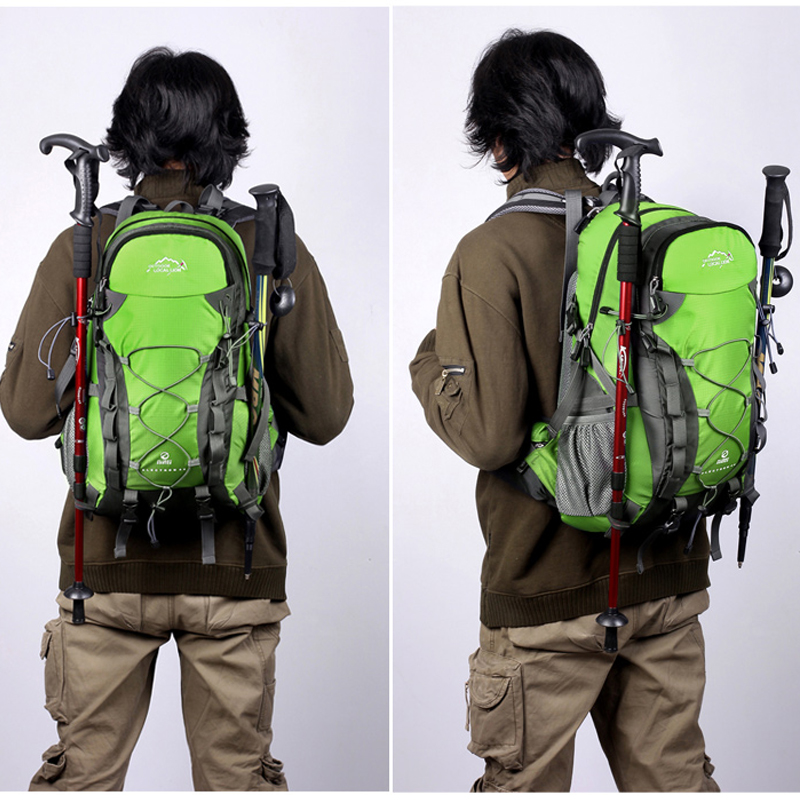 bc5ff64ab9c4b 40L Outdoor Waterproof Hiking Backpack Ventilated Women Men Camping Travel  Bag Molle Trekking Climbing Bag Rucksack LOCAL LION-in Climbing Bags from  Sports ...