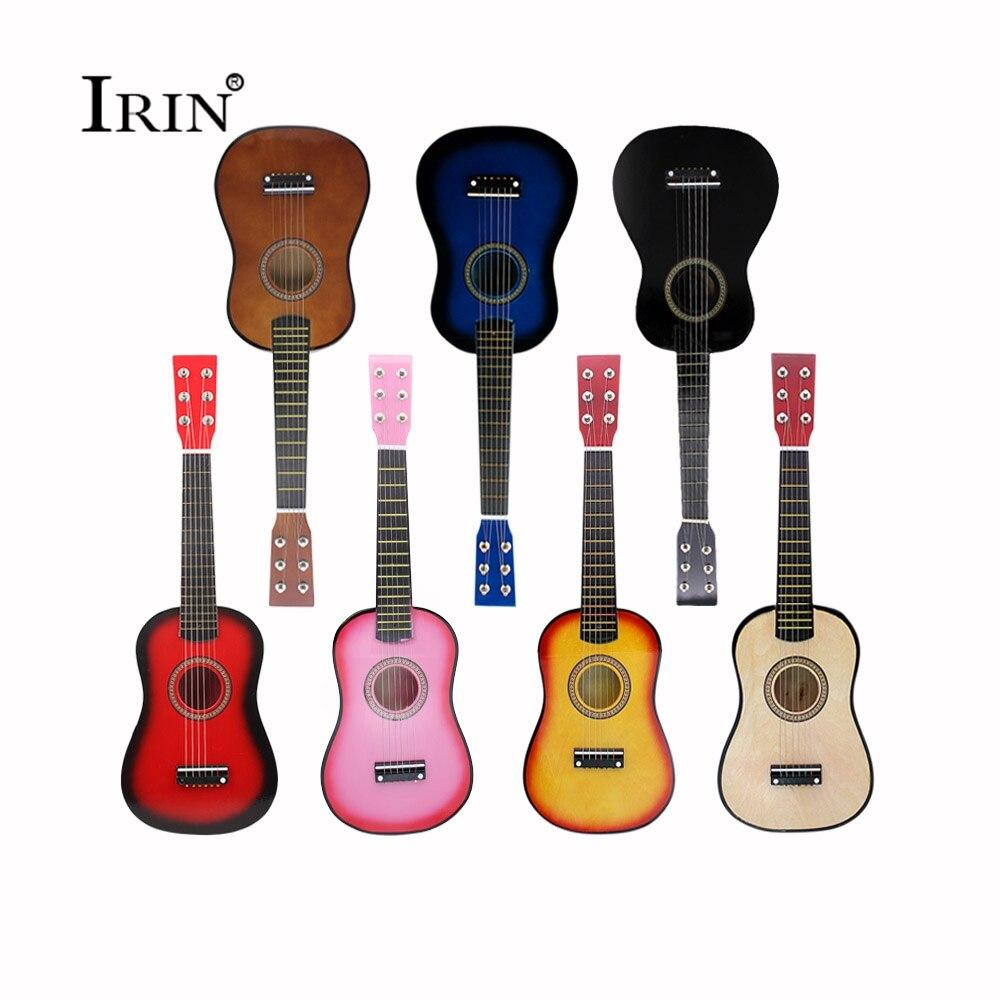 Auf Lager Kleine Hawaiian Akustische 23 Zoll Gitarre 6 String OME Spielzeug 7 Farbe Hohe Qualität Bass Ukelele Konzert Ukulele violão