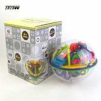 3D Magic Intellect Maze Ball 299 Barriers Kids Children Balance Logic Ability Puzzle Game Educational Training