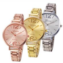 2017 Dignity relogio masculino Fashion Women Crystal Stainless Steel Analog Quartz Wrist Watch Bracele Feb 8GNV