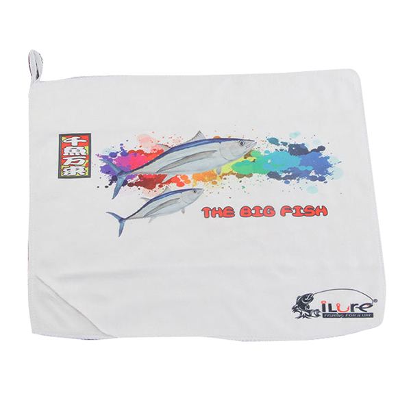 Sweat Towels Sizes: ILURE Sports Outdoor Fishing Towel Microfiber Printing