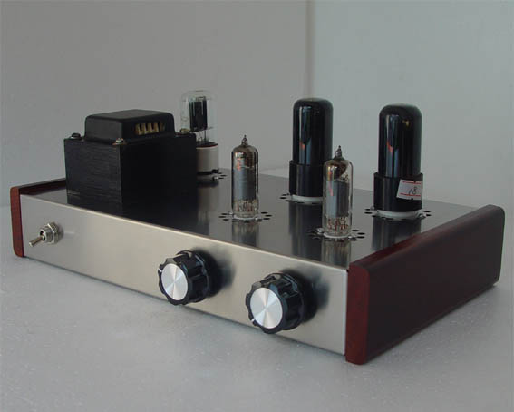 Finished  6j4(EF94) 6p6p(6v6) tube preamplifier pre-amplifier finished product best sound High density bass preamp